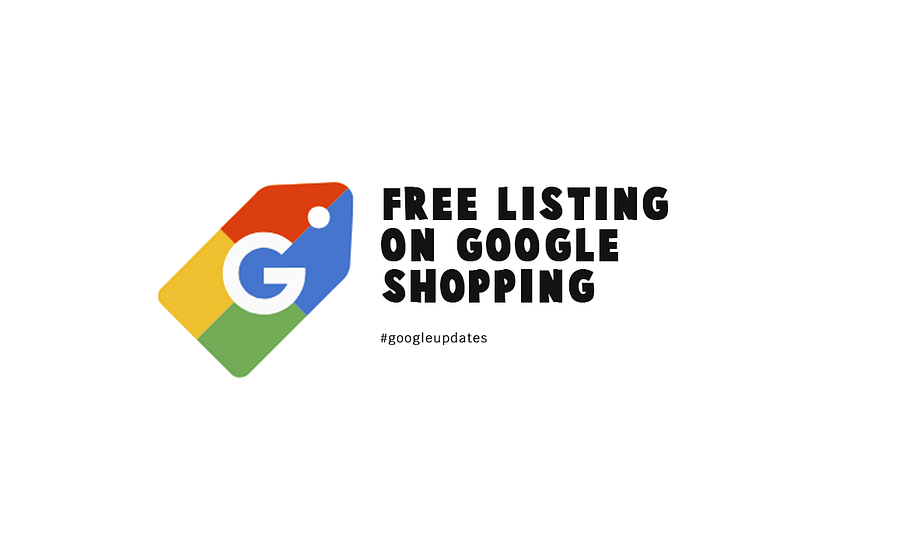 Free Listing on Google Shopping