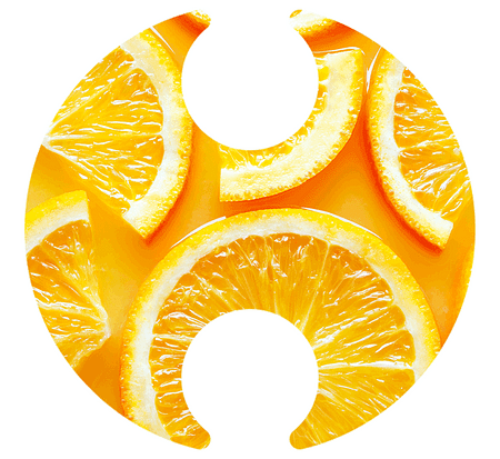 Social Media Orange Slices