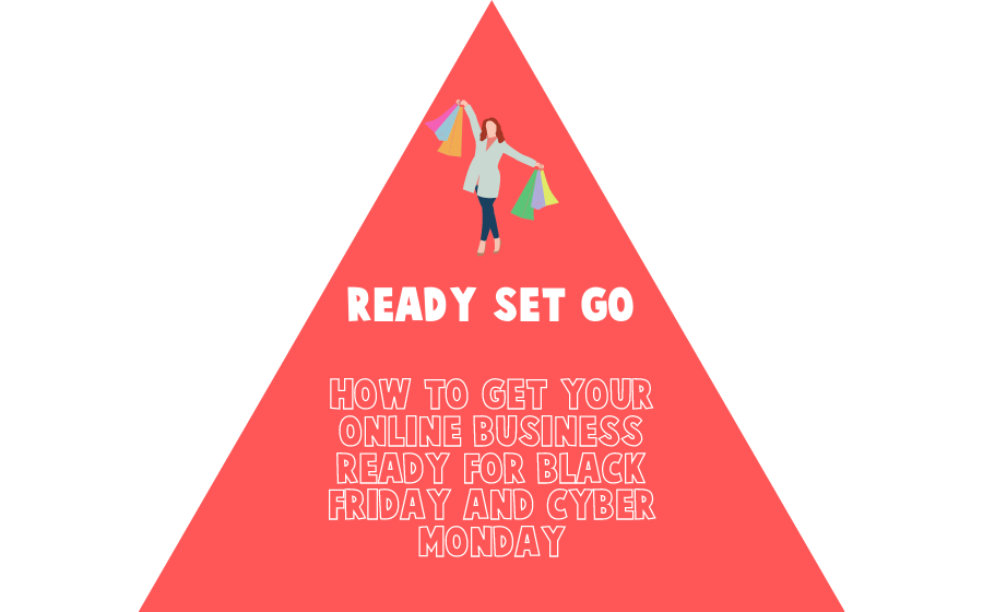 Ready set go. How to get your online business ready for Black Friday and Cyber Monday